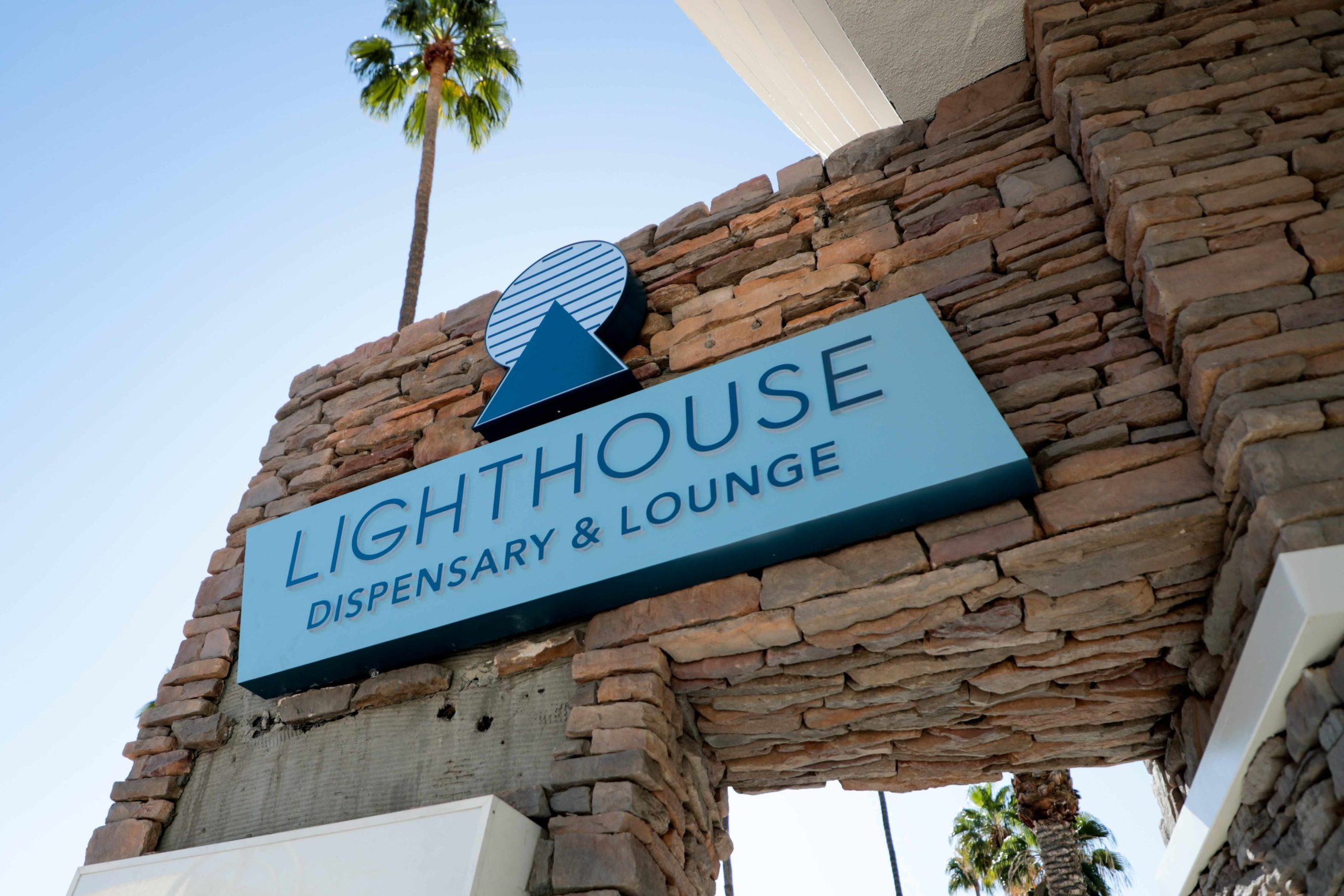 Take a look at the new Lighthouse dispensary in Palm Springs, complete with onsite coffeehouse